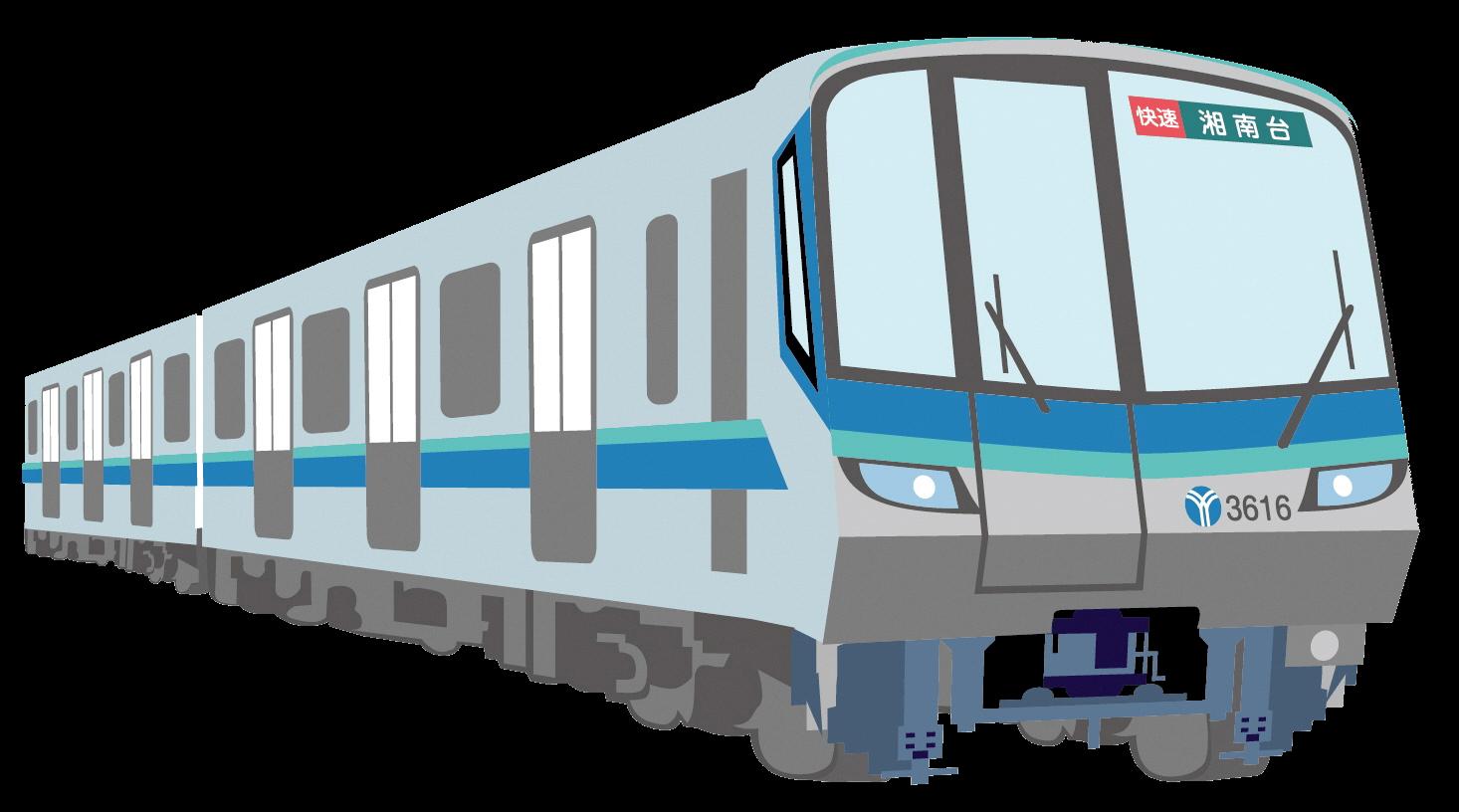 画像:横浜市営地下鉄