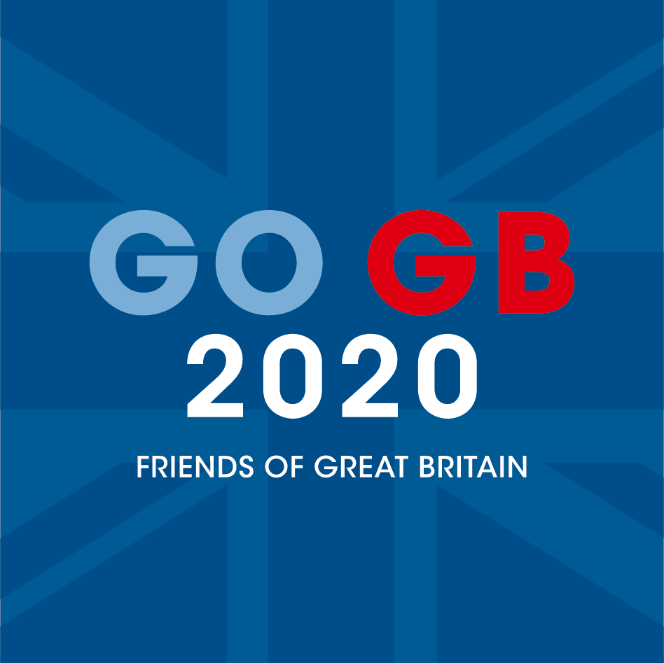 GO GB 2020 FRIENDS OF GREAT BRITAIN